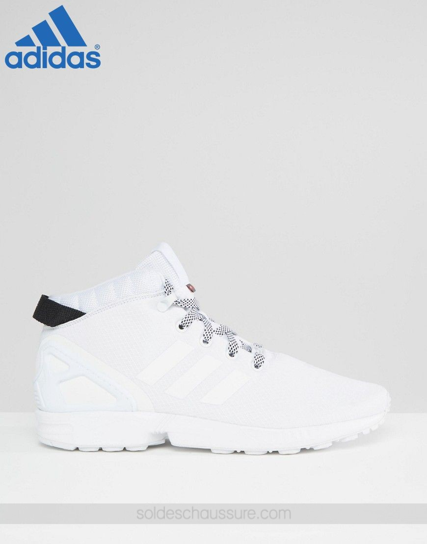Adidas Originals ZX Flux 5/8 Blanc - Boutique Adidas Paris - Adidas Originals ZX Flux 5/8 Blanc Boutique Adidas Paris-01-1