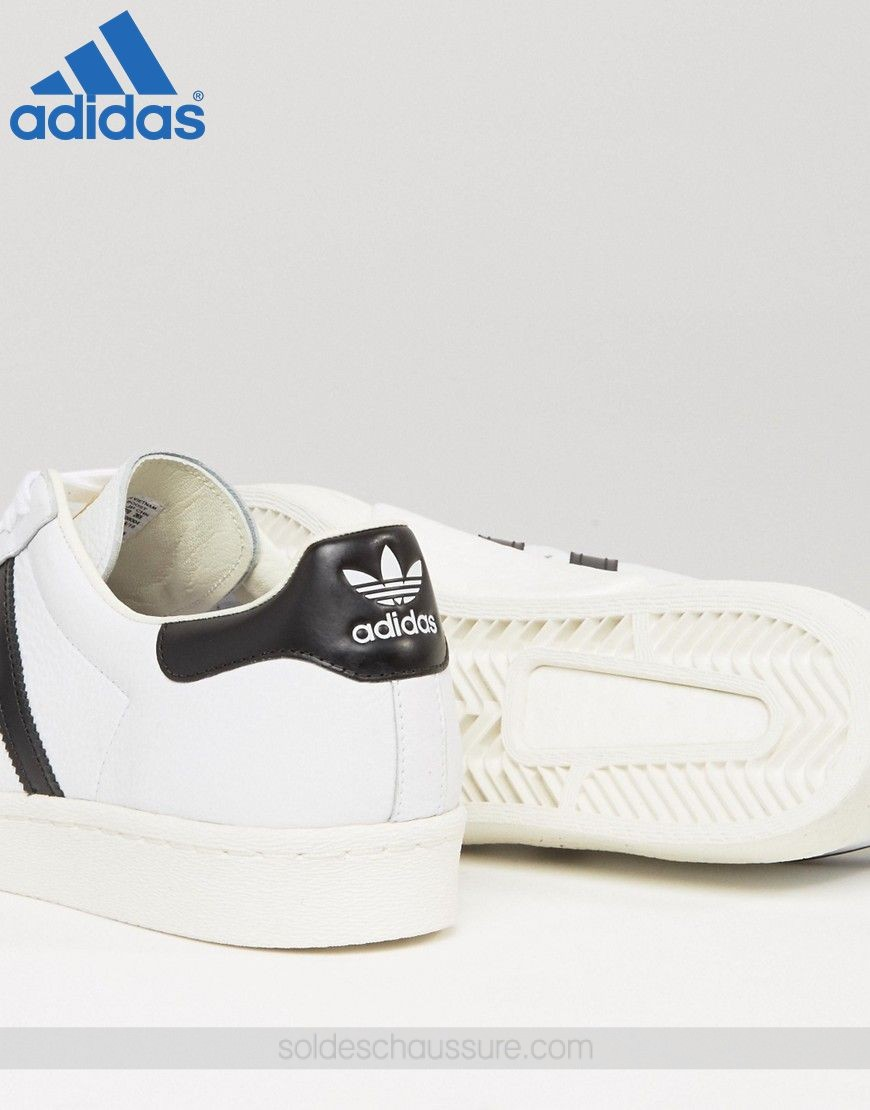 (Boutique Adidas Paris) & Adidas Originals Superstar Boost Blanc - (Boutique Adidas Paris) & Adidas Originals Superstar Boost Blanc-01-3