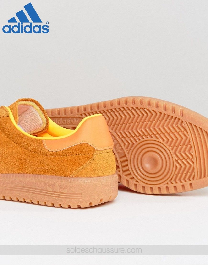 {Chaussure Adidas} ✔ ✔ Adidas Originals Bermuda Orange - {Chaussure Adidas} ✔ ✔ Adidas Originals Bermuda Orange-01-3
