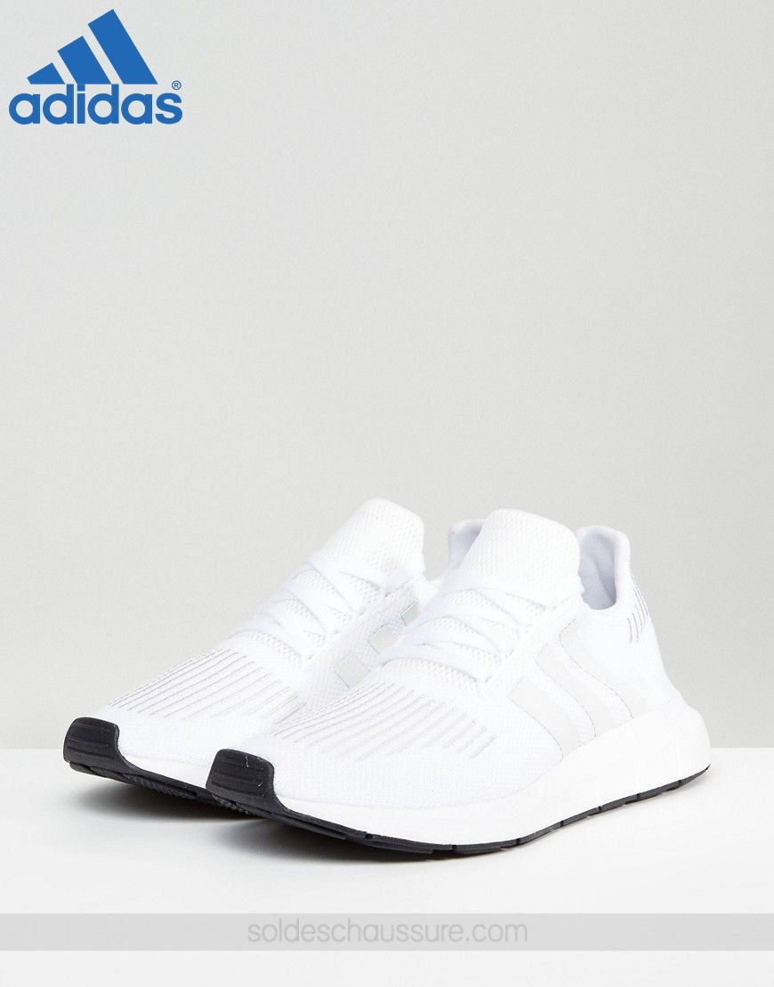 {Adidas Chaussures Pas Cher} ✔ ✔ Adidas Originals Swift Run Blanc - {Adidas Chaussures Pas Cher} ✔ ✔ Adidas Originals Swift Run Blanc-01-1