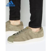 (Vente Privée Adidas) Adidas Originals Superstar style 80's Vert-20