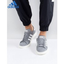 Adidas Originals Campus Gris ✔ Chaussure Adidas-20