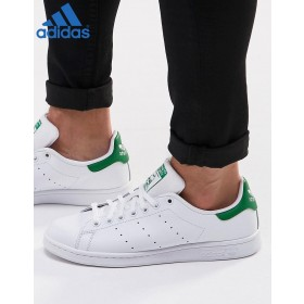 Boutique Officiel Adidas // Adidas Originals Stan Smith en cuir Blanc