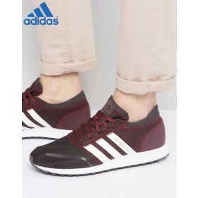 {Soldes Adidas} ★★ Adidas Originals Los Angeles Rouge